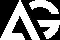 white ag logo